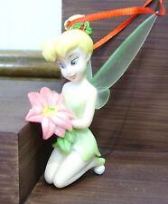 Elfe mit Weihnachtsstern Anhänger - Disney Fairy Tinker Bel - ENESCO