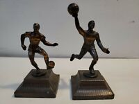 A Lot Of 2 Vintage Athlete Pencil Sharpeners, basketball, soccer, football