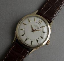JAEGER LECOULTRE 10K Gold Filled Vintage Watch 1954
