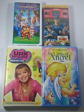 Kids VHS Lot- Misc.: Star Wars Ewoks, The Donut Allstars, Lizzie McGuire,