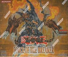 Yu-Gi-Oh Force of the Breaker 1st Edition Booster Box