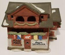 Department 56 Besson Bierkeller Alpine Village Series 1986 Vintage Christmas