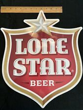 """Large  Lone Star Beer Original Style Decal 15"""""""