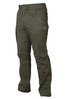New Fox Green Silver Collection Combat Cargo Trousers - All size - Carp Fishing