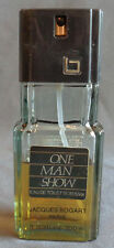 Mans Fragrance One Man Show Jacques Bogart Paris 3.3 Oz Spray 50% Full