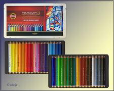 72 Polycolor Künstler Farbstifte KOH-I-NOOR im Metallkasten NEU
