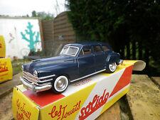SOLIDO CHRYSLER WINDSOR 1946, bleu, neuf dans sa boite collection HACHETTE