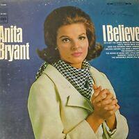 Anita Bryant – I Believe: Columbia 1967 Vinyl PROMO LP (Pop)