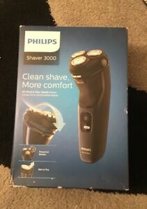 Philips Shaver 3000 S3134 Wet & Dry Mens Shaver Brand New Unopened Cost £70.00