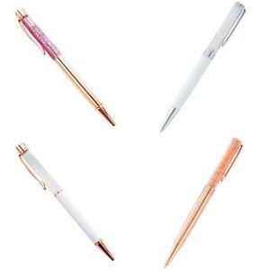 Sparkly Glitter Crystal Ballpoint Pen Xmas Gift With Swarovski Crystal Elements