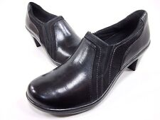 ARAVON, ASHLEY SLIP-ON, WOMENS, LEATHER, BLACK, US 9(2A) NEW WITHOUT BOX