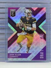 2018 Elite Draft Picks Josh Allen Purple Status Die Cut Rookie RC #28/99 E66