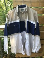 Cumberland Outfitters Men's Size L Button Up Long Sleevs