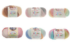 Alize Baby Wool Batik Design Baby Wolle 40% Wolle 20% Bamboo 175m / 50g
