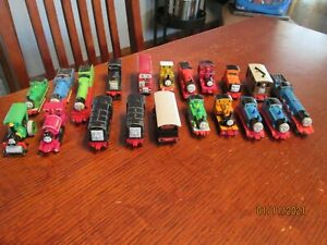 Vintage Thomas The Tank Engine and Friends ERTL Diecast Metal Trains Lot 90's