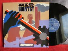 BIG COUNTRY - Steeltown / EX