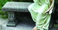 "6""H Garden Memorial Bench Statue Sold Separately Joseph's Studio # 62463B"
