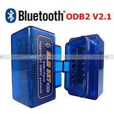 OBD2 II Mini ELM327 V2.1 Bluetooth Diagnostic Car Auto Interface Scanner