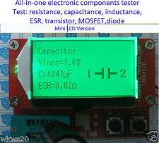 All-in-1 Component Tester Transistor Diode Capacitance ESR Meter Inductance