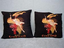 ASTI CINZANO - Set of 2 - Decorative Pillows
