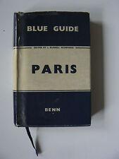PARIS Blue Guide Muirhead Maps Classic Pocket Book Travel Maps Benn Museum