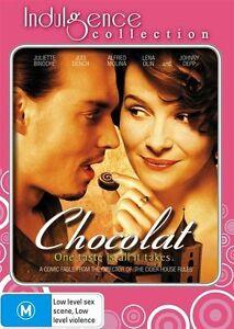 Chocolat - Indulgence Collection (DVD, 2009) Region 4 - Johnny Depp