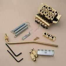 Floyd Rose 6 String Double Lock Cosmos Gold Plated Lic Tremolo Bridge 42MM Nut