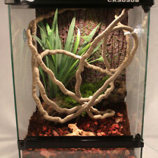 Jungle Vines Flexible Pet Reptile Habitat Decor w/ 4 Suction Cup for Lizard Frog