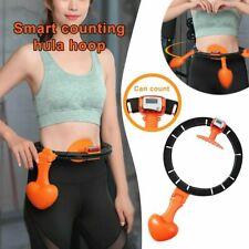 Hot Smart Hula Hoop Lose Weight Exercise Detachable Portable Sports Circle UK