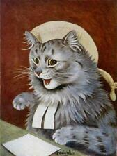 CAT, CHAT, KATZE, CAT AS BARRISTER (LAWYER), LOUIS WAIN, MAGNET