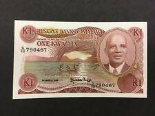 MALAWI  1 Kwacha 1986  --  CRISP!!   AU