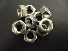 M12 X 1.25  STAINLESS STEEL  A2 FINE PITCH HEXAGON FULL NUTS HEX NUT 10 PACK