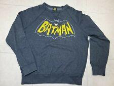 Vintage 1960's Logo Style Batman Dc Comics Sweatshirt Crewneck Adam West Sm S13