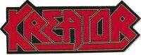 Official Licensed Merch Woven Sew-on PATCH Heavy Metal KREATOR Logo Cut-out