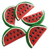 5pcs Water Melon Slice Resin Flatback Cabochons Embellishment Decoden Craft