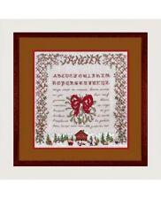 Le Bonheur des Dames- Cross stitch kit Christmas Sampler 1287