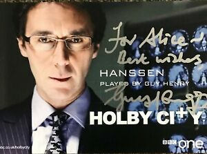 Guy Henry (Holby City), Hand signed autographed photograph  with COA