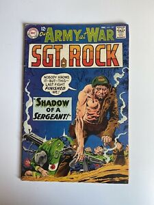 Our Army At War # 187 SGT ROCK DC Comics December 1967