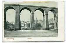 Viaduct Luxemburg Luxembourg 1910c postcard