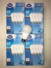 Sweet 16 Pack LED 60W = 9W Daylight 60 Watt Equivalent A19 5000K light bulb