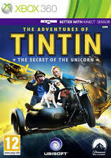 Les aventures de Tintin: le secret de la licorne ~ Xbox 360 (great condition)