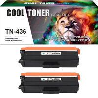 2 PK Black for Brother TN436 TN436BK Toner HL-L8360CDW MFC-L8900CDW MFC-L9570CDW