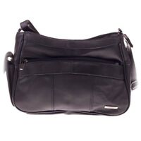 Ladies Genuine Leather Small Cross Body - Shoulder Bag with Side Pocket - Lorenz