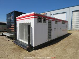 2015 Cummins C334 N6C 334 kW Skid Mounted Natural Gas Generator GenSet bidadoo