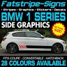 BMW 1 SERIES GRAPHICS STRIPES STICKERS DECALS M SPORT SE SPORT M135i M140i COUPE