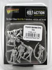 Bolt Action WGB-JI-31 Imperial Japanese Army HQ (WWII) Infantry Command Warlord