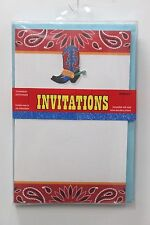 cowboys western greeting invitations for sale ebay