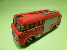 DINKY TOYS 1:43 FIRE ENGINE 259   REPAINTED MODEL  FEUERWEHR  - GOOD CONDITION