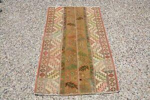 Patchwork Vintage Tribal Kilim, Carpet Rug, Handmade Kilim, Morrocan Rug, Old Ru