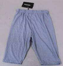 Pretty Little Thing Womens Solid Basic Cycle Shorts BF5 Dusky Blue Size US 0